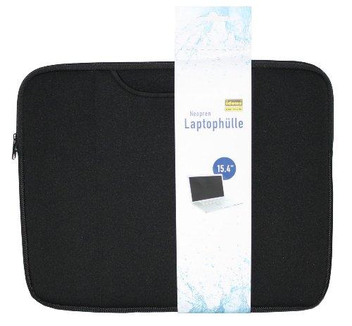 """Idena 373175 Laptophülle für 15,4"""" schwarz"""