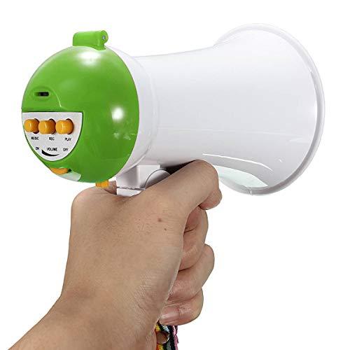 are Handheld Megaphon Lautsprecher Verstärker Recorder Megaphongrün ()