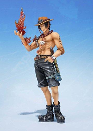 Bandai Tamashii Nations S.H.FiguartsZERO Portogas.D.Ace 5th Anniversary Edition One Piece Action Figure 6