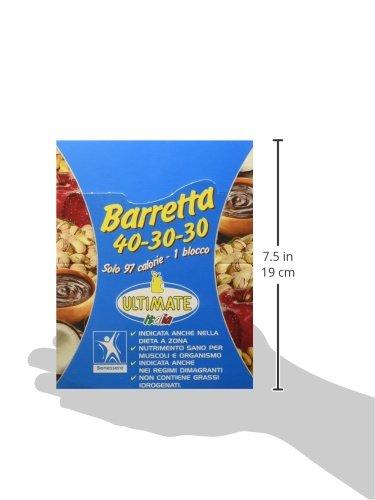 Ultimate Italia Barretta 40-30-30 Barretta 40-30-30 - 30 Barrette - 41AHLOBQBpL