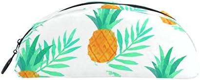 Bennigiry Tropical Ananas Ananas Ananas Trousse, grande capacité Pen Sac organiseur de bureau en demi-cercle papeterie Pouch support pour l'école et fournitures de bureau | De Biens De Toutes Sortes Sont Disponibles  fd07fa