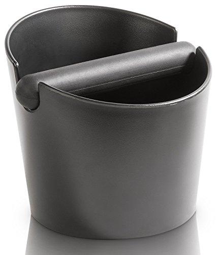 VIENESSO Barista Abschlagbox mit gummierter und abnehmbarer Abklopfstange - Design-Abschlagbehälter...