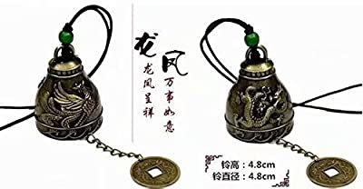 Vintage Dragon Fengshui Bell Good Luck Bless Home Garden Hanging Windchime : everything 5 pounds (or less!)