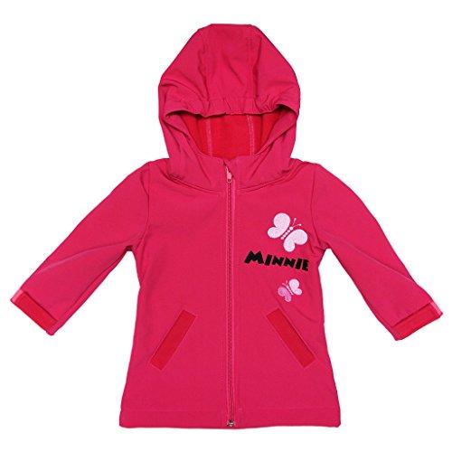 Disney Minnie Mouse Softshell-Jacke Regenjacke Übergangsjacke Windjacke für Baby Kleinkind...