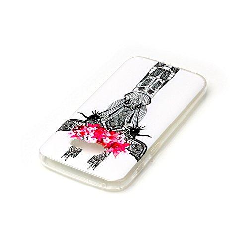 Coque Samsung A3 2017 , Etui Coque Galaxy A3 2017 TPU Slim Housse Cover avec Chien Rouge Lunettes Motif mode Bumper pour Samsung Galaxy A3 2017 (4.7 pouces) Souple Housse de Protection Flexible Soft C Girafe