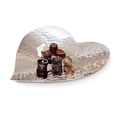 Large Hammered Heart Dish by Culinary Concepts
