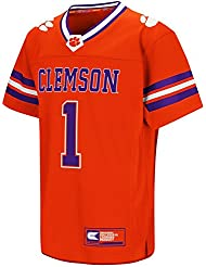 "Clemson Tigers NCAA ""Hail Mary Pass"" Youth Jeunes Football Jersey Maillot"