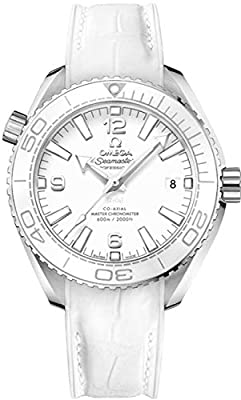 Omega Seamaster Planet Ocean White Dial 39.5mm Mens Watch 215.33.40.20.04.001