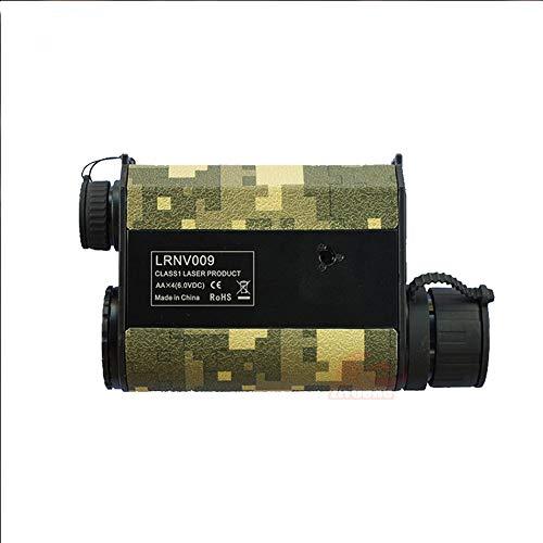 Mhwlai Nachtsicht-Entfernungsmesser, hochauflösendes hochpräzises Sensor-Messgerät Infrarotlaser-elektronisches Lineal-Nachtsichtteleskop,Camouflage -