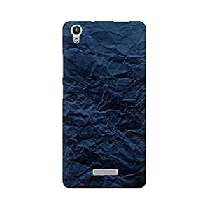Mobicture Crumpled Paper Premium Printed High Quality Polycarbonate Hard Back Case Cover for Lava Pixel V1 With Edge to Edge Printing