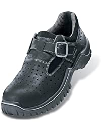 Uvex - Sandalias de Vestir para Hombre Negro Negro