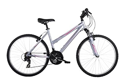 Barracuda Women's Mystique Mountain Bike - Silver, 26 Inch