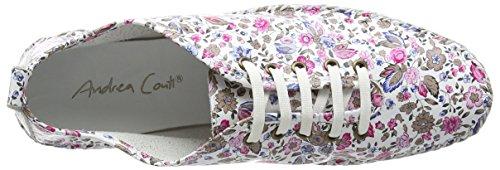 Andrea Conti - 0021570, Scarpe da ginnastica Donna Multicolore (Mehrfarbig (weiß kombi 181))