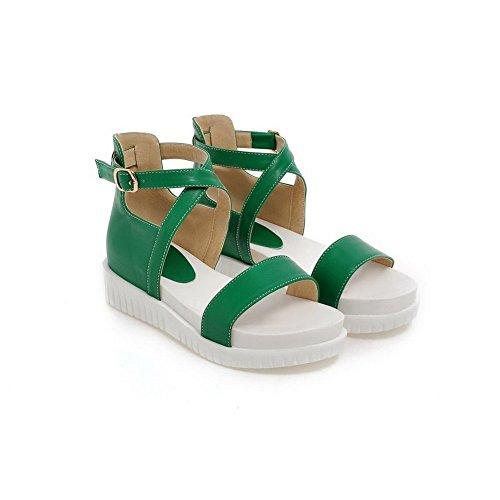 1TO9 , Sandales pour femme Vert