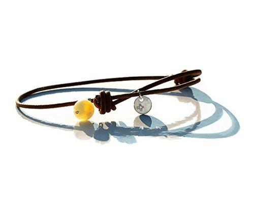 collana-di-happiness-ambra-e-argento-sterling-925-segno-ciondolo-su-scorrevole-in-pelle