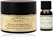Kama Ayurveda Eladi Hydrating Ayurvedic Face Cream with Pure Essential Oils of Rose and Jasmine 50g, Bringadi