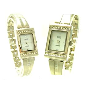 Eton 2649L Silver 17 – Reloj para Mujeres Color Plateado