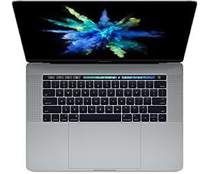 """Apple MLH42FN/A MacBook Pro 15,4"""" 2016 Retina Gris (Intel Core i7, 16 Go de RAM, 512 Go, AMD Radeon Pro 455/Intel HD Graphics 530, Mac OS X)"""