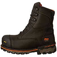 "Timberland PRO Men's Boondock 8"" Composite Toe Puncture Resistant Waterproof Industrial Boot, Black, 11.5 M US"