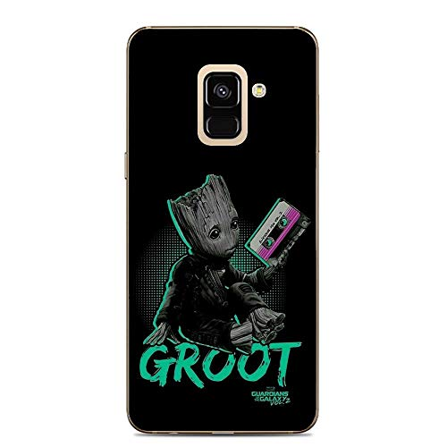 Galaxy A6 Case,Flexible Slim Silicone TPU Protector Cover Soft Thin Gel Skin for Samsung Galaxy A6-Cute Baby Groot - Silicon Protector Case