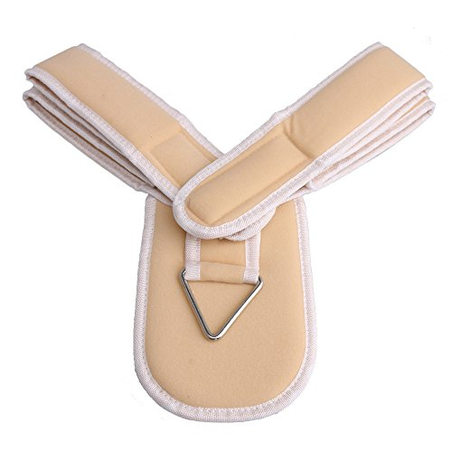 bqlzr creme Farbe Flanell Schlüsselbein Verstellbare Haltung Corrector und Bandage strebenfixierung Gürtel Größe M