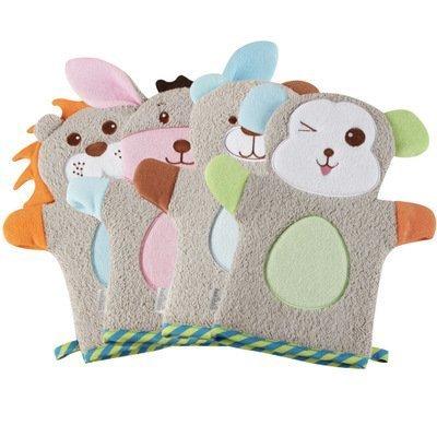 Cute Animal Handpuppe Waschhandschuhe f�r Kleinkinder Weiche Baby Bad Handschuhe Baby Badetuch