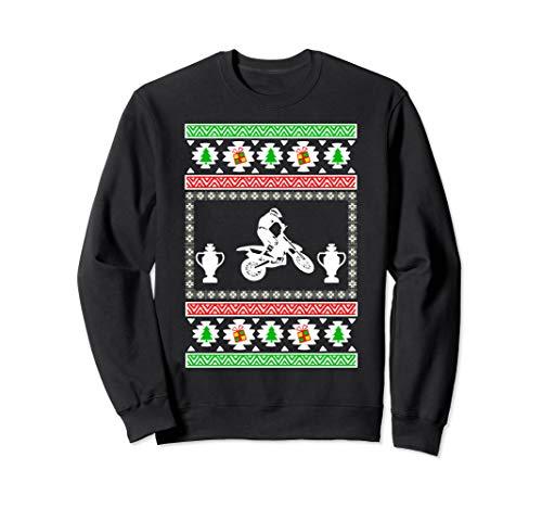 Motorcycle Racing ugly christmas gift for dad Sweatshirt
