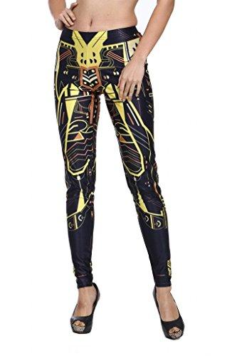 Sunnydate-Leggings con stampa ACTIVE Pantaloni Sport Pantaloni 8520 Dimensioni dell'etichetta
