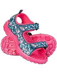 Mountain Warehouse Sandalias Sand para niña - Chanclas de Neopreno para niños, Calzado de Verano con Suela Resistente, Calzado con Tira en el talón Desmontable para niños