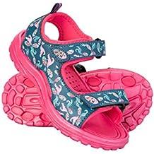 Mountain Warehouse Sandalias Sand para niña - Chanclas de Neopreno para niños, Calzado de Verano