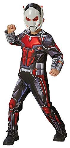 Ant-Man Avengers Deluxe Kostüm für Kinder - Gr. M (5-6 Jahre) - Marvel Comics Film Superheld Karneval Kindergeburtstag Spielen ()