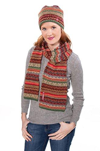 Alpaka-Mütze LUNA gefüttert mit Baumwoll-Vlies für Damen und Herren im...