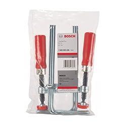 Bosch, coppia di morsetti per binari di guida 7, codice prodotto 2608000426, 2 – confezione