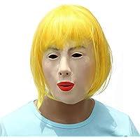 715594432fab44 BESTOYARD Masque en Latex réaliste Bestyard pour fête de Festival  déguisement Cosplay