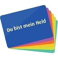 """6 Dankeschön-Karten (Postkarten-Set 2) - In großen Lettern - Danke sagen ohne das Wort """"Danke"""" zu nennen (kleines Geschenk)"""