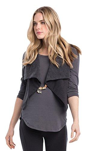 Synergy Organic Clothing Hug Me Weste jet black
