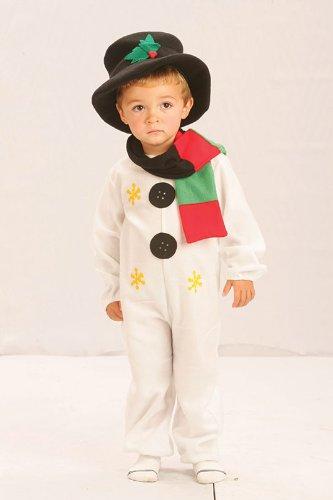 Snowman Medium costume for Kids Fancy (Kostüm Weihnachten Ideen Für Partei)