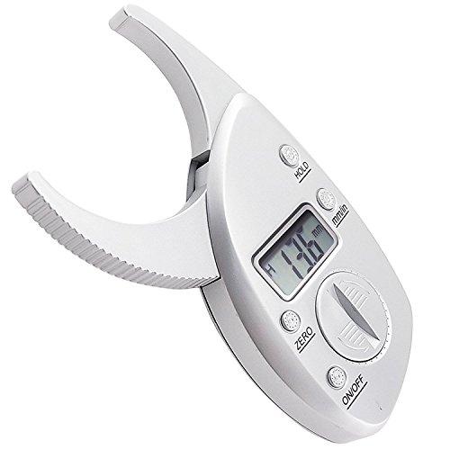 Digital-körperfett-bremssattel (Tragbare Haut Fett Bremssattel Tester mm Zoll LCD-Bildschirm Athletic Damen/Herren Body Tools Monitoring Kit)