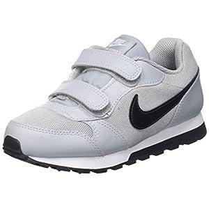 Nike Unisex-Kinder Md Runner 2 Sneaker, Schwarz