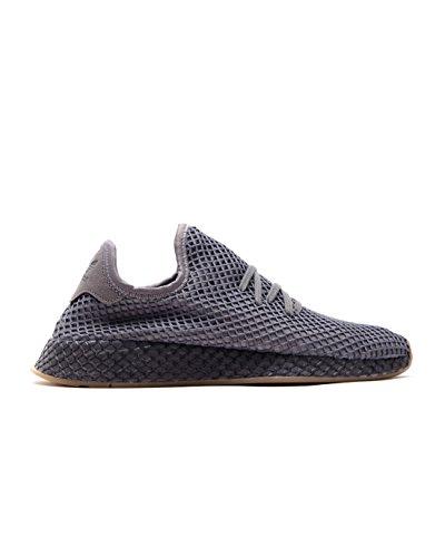 Adidas DEERUPT RUNNER GRETHR/GREFOU/FTWWHT - 11- (Classic Running Sneakers)