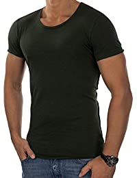 JACK & JONES Herren T-Shirt jorWALLET Tee Rundhals leicht meliert Slim Fit