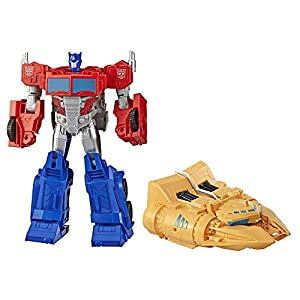 Transformers- Cyberverse Ark Power Optimus Prime (Hasbro E4218EU4)