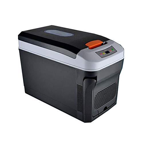 wangt Kühlbox 35L Dual Voltage Leichte Autokühlschränke Große Kapazität Reisender Mini-Kühlschrank Mit Riemenscheibe