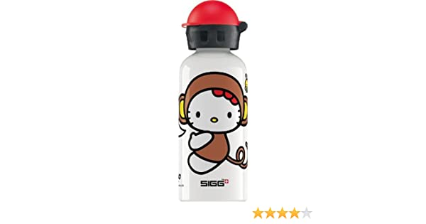 Sigg Kinder Trinkflasche Hello Kitty Cheetah Costume Wei/ß 0.4 l