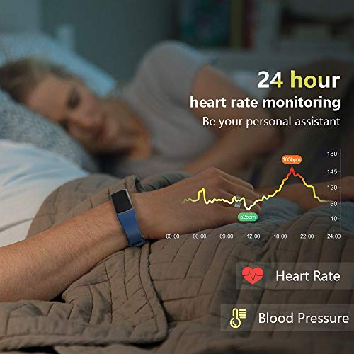 Zoom IMG-2 morefit orologio fitness tracker pressione