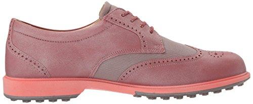 Ecco Femmes Classique Golf Hybride, Scarpe Da Golf Rose Donna (50421petal / Petal Trim)