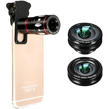 M.Way 3 en 1 Kit Objectif Téléphone Universel Caméra Lens Téléobjectif Zoom Lentille Optique 10x