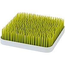 Phtalat- und PVC-frei Boon GRASS Trockengestell mit praktischer Auffangschale f/ür die K/üche Stylisches zweiteiliges Trockengestell in Wei/ß zum Trocknen von Geschirr und Besteck BPA-