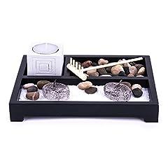 Idea Regalo - Pajoma 30010Buddha - Giardino zen, 20,5x 20,5x 6cm