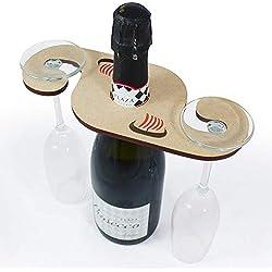 Azeeda 'Barco Vikingo' Soporte para Copas / Sostenedor de Botella (GH00040629)